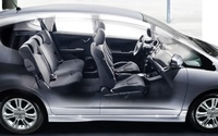 2009 Honda Fit, Interior Side View, manufacturer, exterior, interior