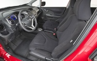 2009 Honda Fit, Interior Front Side View, manufacturer, interior