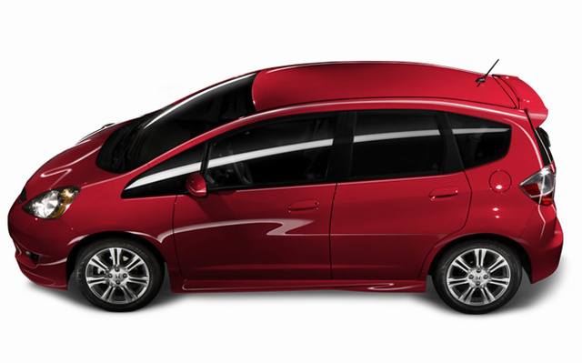 2009 Honda Fit, Left Side View, exterior, manufacturer