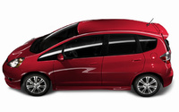 2009 Honda Fit, Left Side View, manufacturer, exterior