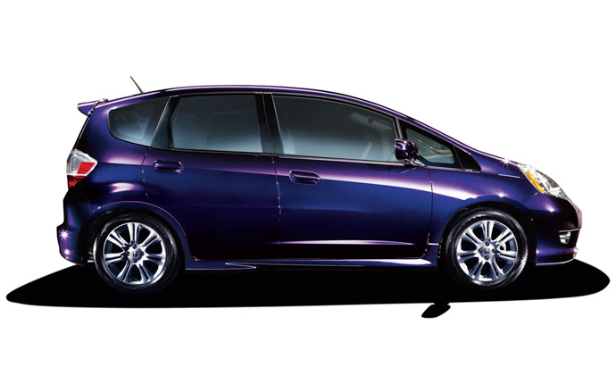 2009 Honda Fit, Right Side View, exterior, manufacturer