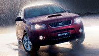 2008 Ford Territory, Front Right Quarter View, exterior, manufacturer