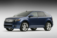 2009 Ford Edge Sport, Front Left Quarter View, exterior, manufacturer