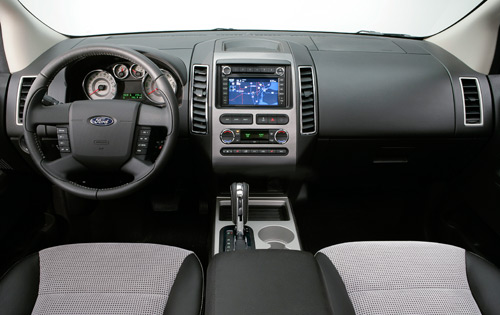 2009 ford edge interior pictures