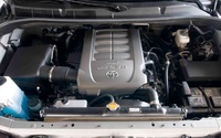 2009 Toyota Sequoia, Engine View, manufacturer