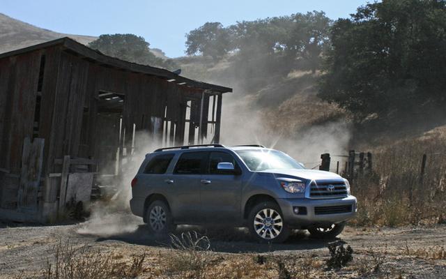 2009 Toyota Sequoia, Front Right Quarter View, exterior, manufacturer