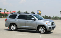 2009 Toyota Sequoia, Front Right Quarter View, exterior, manufacturer