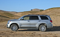2009 Toyota Sequoia, Left Side View, manufacturer, exterior