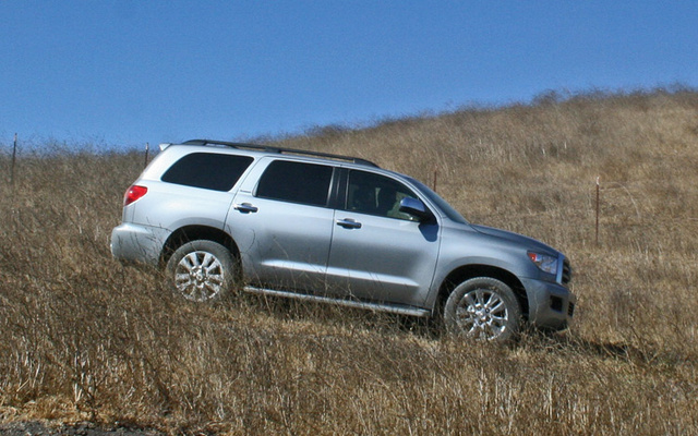 2009 Toyota Sequoia, Right Side View, exterior, manufacturer