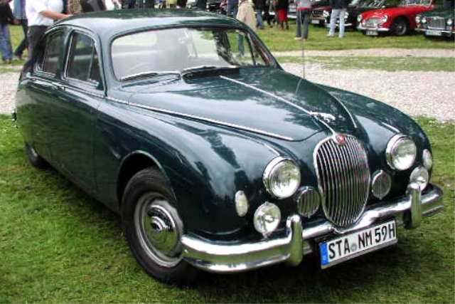 1955 Jaguar Mark 1 picture, exterior