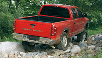 2009 Dodge Ram Pickup 2500, Back Right Quarter View, manufacturer, exterior