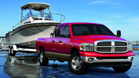 2009 Dodge Ram Pickup 2500, Front Right Quarter View, exterior, manufacturer