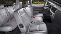 2009 Dodge Ram Pickup 2500, Interior Front Side View, interior, manufacturer