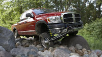 2009 Dodge Ram 2500, Front Right Quarter View, exterior, interior, manufacturer