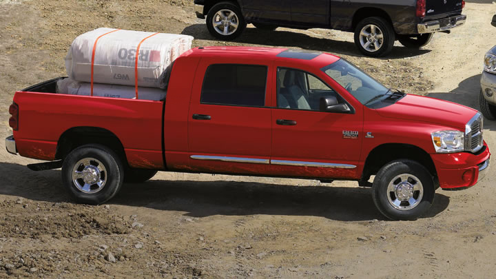 2009 Dodge Ram Pickup 2500, Right Side View, exterior, manufacturer