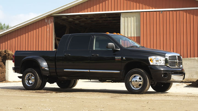 2009 Dodge Ram 3500, Right Side View, exterior, manufacturer