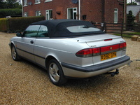 1997 Saab 900 2 Dr SE Turbo Convertible picture, exterior