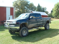 2005 Chevrolet Silverado 1500HD LT Crew Cab SB 4WD, My brother's 2005 Chevrolet Silverado 1500HD LT Crew Cab Short Box 4-WD.  13 inches over stock height  including: 6-in Superlift Suspension, 3-in Bo...
