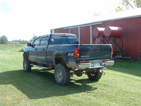2005 Chevrolet Silverado 1500HD LT Crew Cab SB 4WD, My brother's 2005 Chevrolet Silverado 1500HD LT Crew Cab Short Box 4-WD.  13 inches over stock height including: 6-in Superlift Suspension, 3-in Bod...