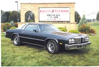 My dad's 1977 Oldsmobile Cutlass Supreme.  He bought this car new.  It's freshly restored and all original including the V6 engine., exterior
