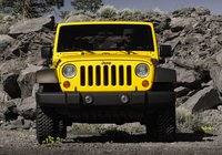 2009 Jeep Wrangler, front view, exterior, manufacturer