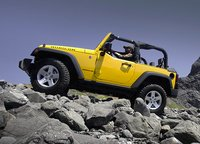 2009 Jeep Wrangler, side view, exterior, manufacturer