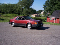 1988 Ford EXP, Not my EXP.  Similar, but mine had tinted windows, sport wheels, and white-letter tires., exterior