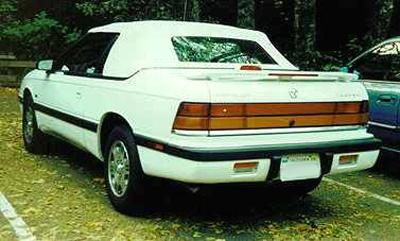 Chrysler Le Baron Dr Gtc Convertible Pic X