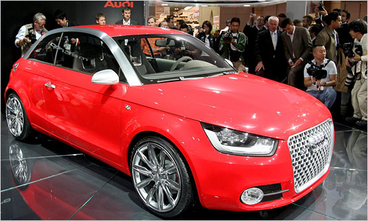 Audi A1 Interior. Picture of 2010 Audi A1
