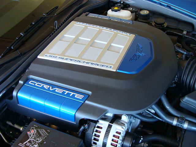 Picture of 2009 Chevrolet Corvette ZR1 1ZR Coupe RWD, engine, gallery_worthy