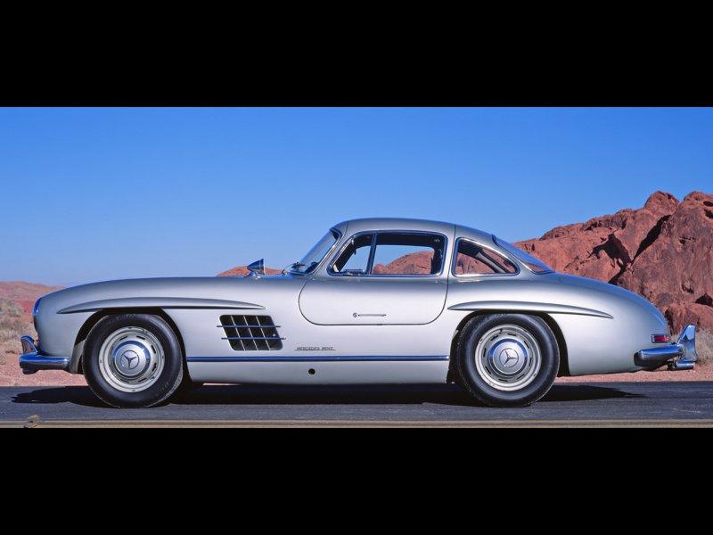 1955 Mercedes-Benz 300SL, 1958 Mercedes-Benz 300SL picture, exterior