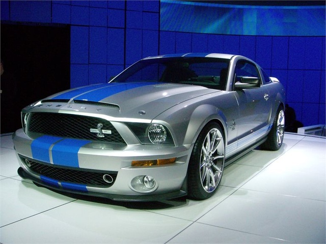 Picture of 2009 Ford Mustang Shelby GT500 Coupe RWD, exterior, gallery_worthy