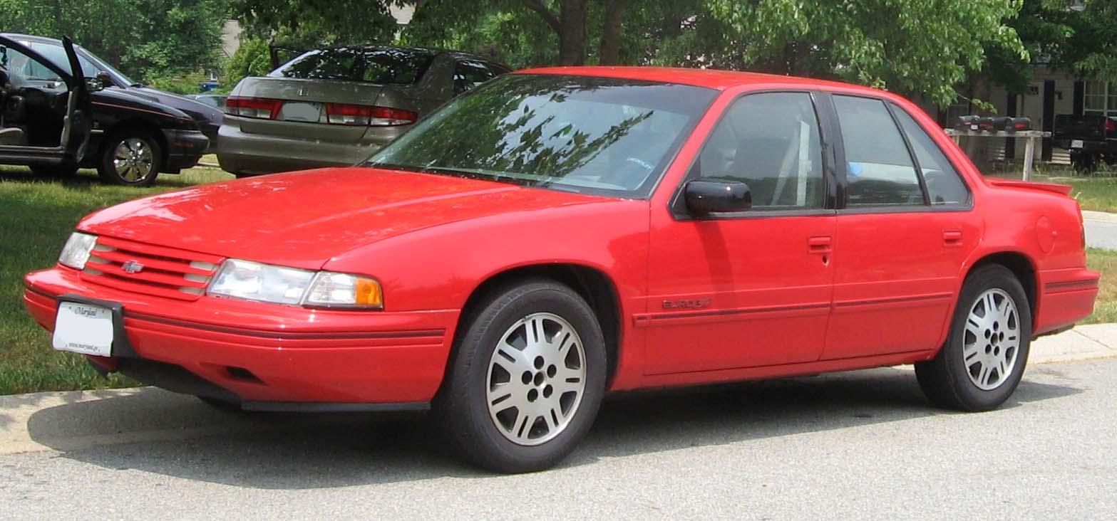 1992 Chevrolet Lumina 4 Dr Euro Sedan - Pictures - 1992 Chevrolet ...