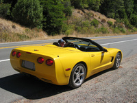 2002 Chevrolet Corvette Convertible picture, exterior