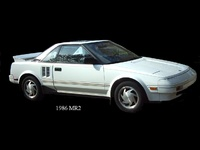 1986 Toyota MR2, 1986 Mr2 Original, exterior