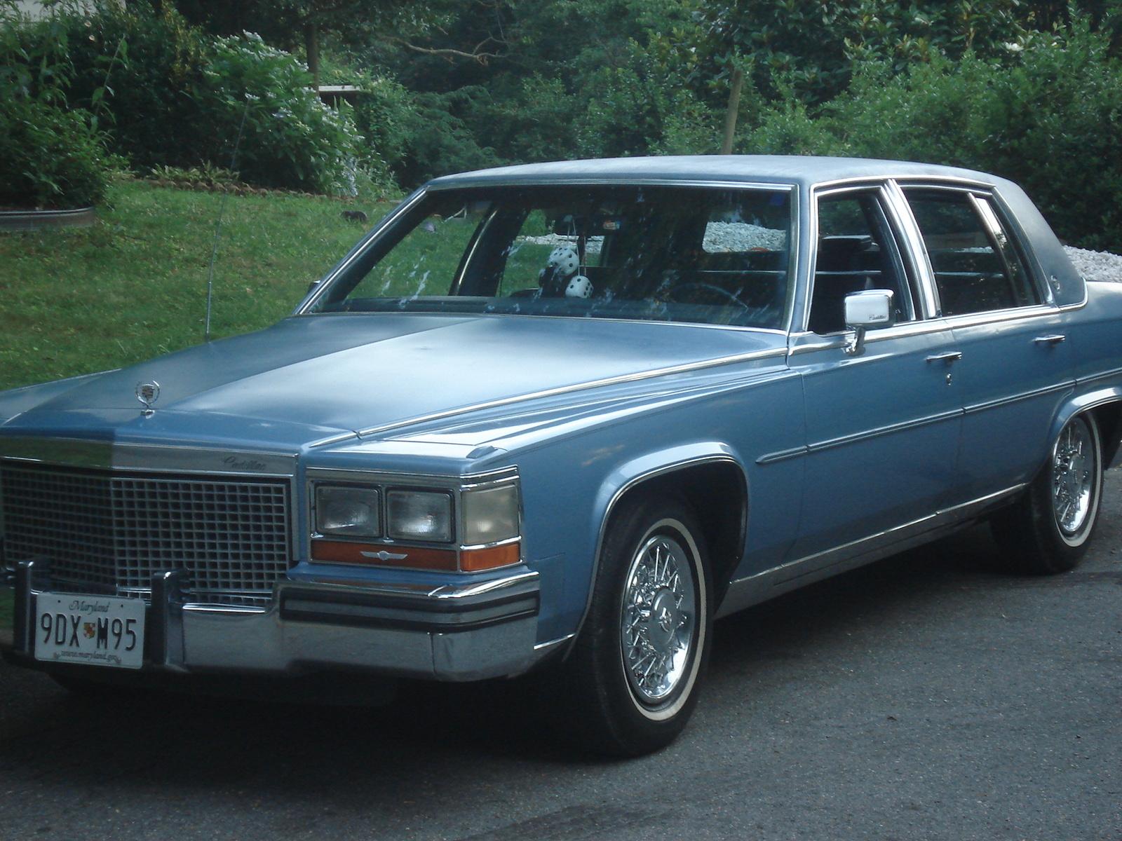 1988 Cadillac Fleetwood Celebrity Hot