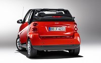 2009 smart fortwo passion cabrio, Back Left Quarter View, exterior, manufacturer, gallery_worthy