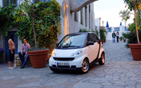 2009 smart fortwo, Front Left Quarter View, exterior, manufacturer
