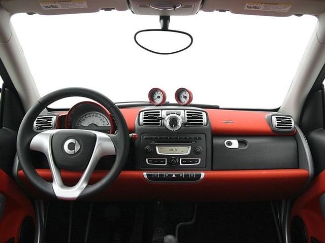 2009 smart fortwo, Interior Dashboard View, interior, manufacturer
