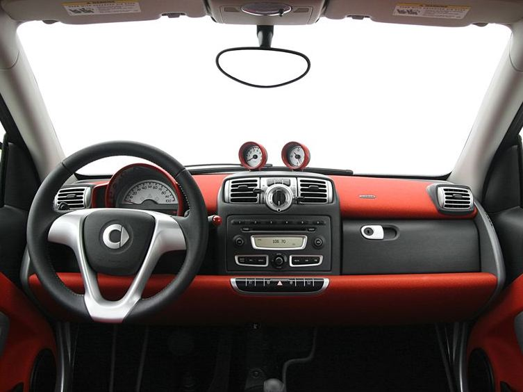 2009 smart fortwo interior pictures cargurus. Black Bedroom Furniture Sets. Home Design Ideas