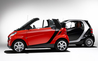2009 smart fortwo, Left Side View, manufacturer, exterior