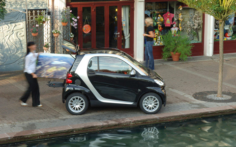 2009 smart fortwo, Right Side View, exterior, manufacturer