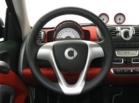 2009 smart fortwo, Interior Steering Wheel Zoom View, manufacturer, interior