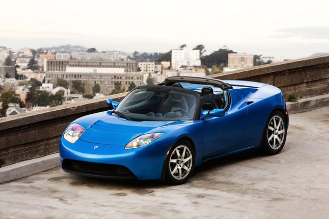 2008 Tesla Roadster, Front Left Quarter View, exterior, manufacturer