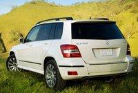 2010 Mercedes-Benz GLK-Class, Back Left Quarter View, exterior, manufacturer