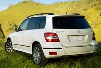2010 Mercedes-Benz GLK-Class, Back Left Quarter View, manufacturer, exterior