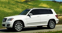 2010 Mercedes-Benz GLK-Class, Left Side View, manufacturer, exterior