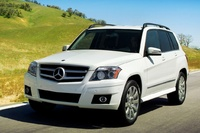 2010 Mercedes-Benz GLK-Class, Front Left Quarter View, manufacturer, exterior