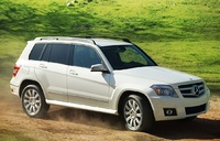 2010 Mercedes-Benz GLK-Class, Front Right Quarter View, manufacturer, exterior