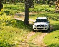 2010 Mercedes-Benz GLK-Class, Front View, exterior, manufacturer